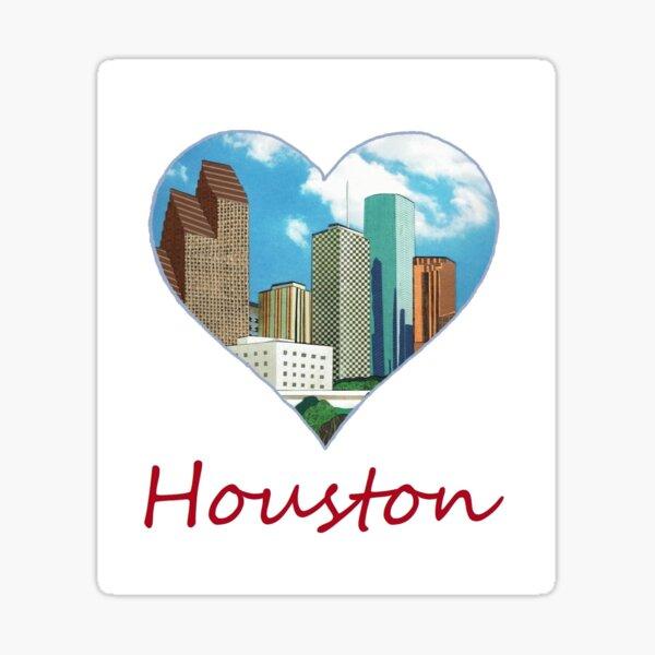 I Heart Houston Sticker
