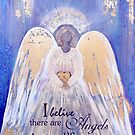 Angel of Love and Light III (Golden Wings) by nelinda