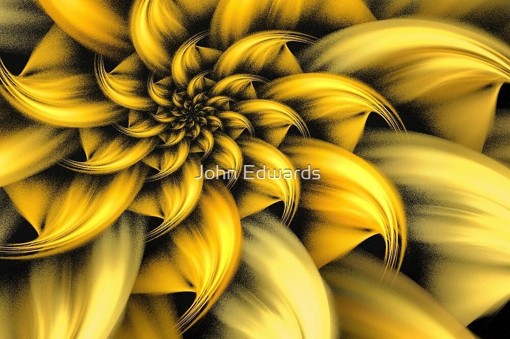 Fiore giallo by John Edwards