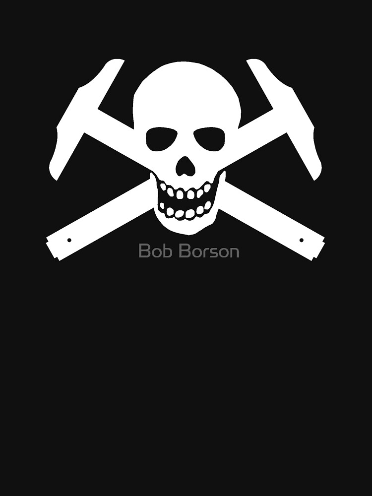 Architectural Jolly Rogers - White image by bobborson