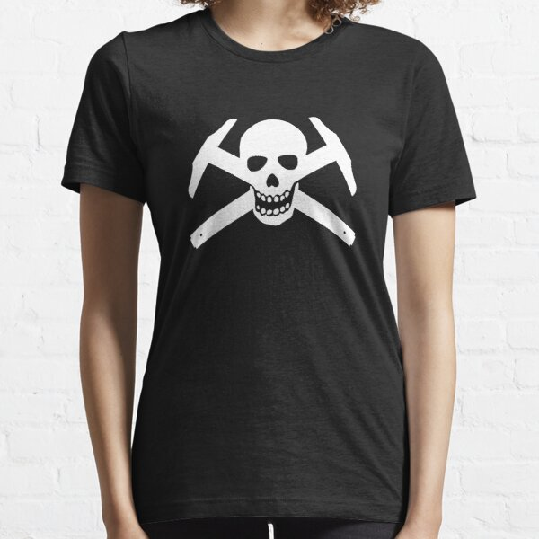 Architectural Jolly Rogers - White image Essential T-Shirt