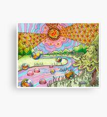 """Trippy Forest """"Return of the Voodoo Child"""" Canvas Print"""