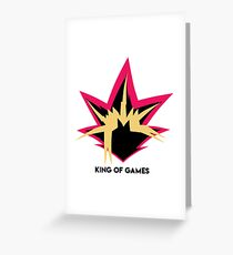 Yuigioh - King Of games Greeting Card
