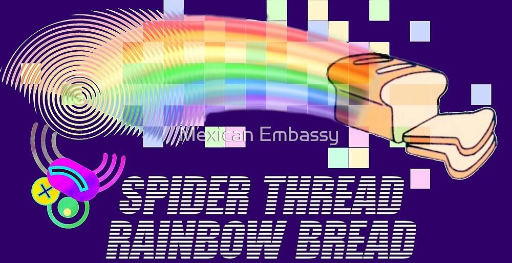 Spider Thread Rainbow Bread © Rob Hock 2017 by Mexican Embassy