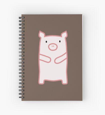 Pig Spiral Notebook