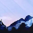 Summer Mountain von schwebewesen
