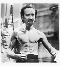 Nicolas Cage/Bruce Lee Poster