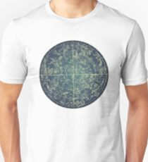Antique Constellation of Northern Stars 19th Century Astronomy T-Shirt