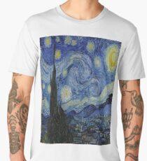 The Starry Night by  Vincent van Gogh Men's Premium T-Shirt