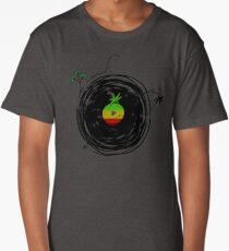 Reggae Music - Vinyl Records Cannabis Leaf - DJ inspired design Long T-Shirt