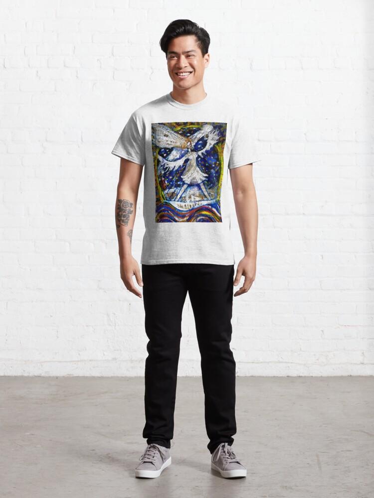 Alternate view of La Dama Viento Classic T-Shirt