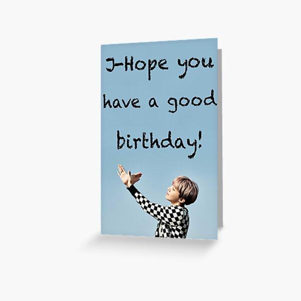 J-Hope Greeting Card