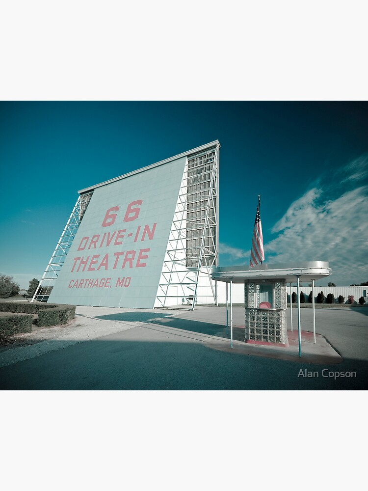 Route 66. Drive-in Cinema. Carthage. by AlanCopson