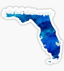 Palm Beach Atlantic University Sticker