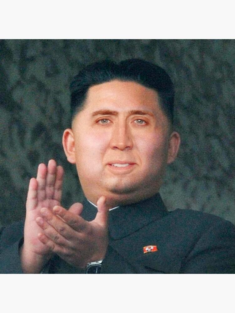 Nicolas Cage/Kim Jong-Un by Balzac