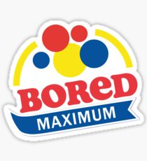 boredom Sticker