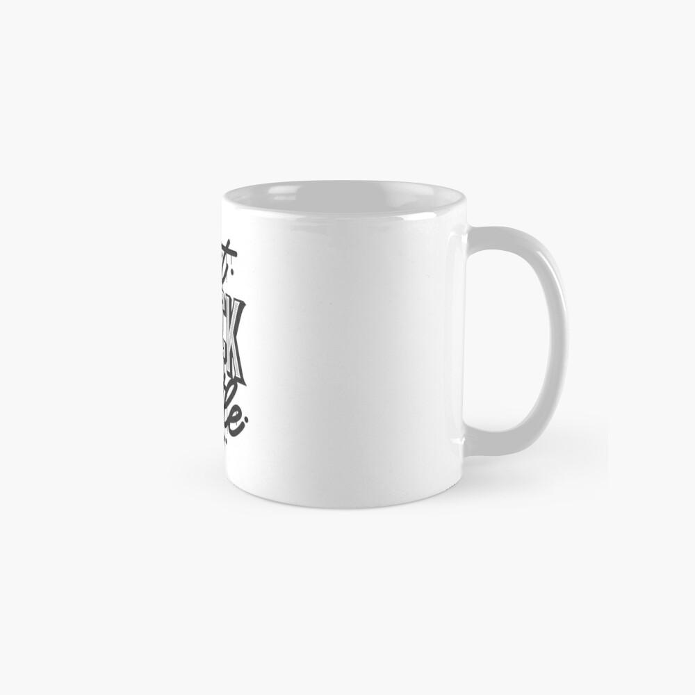 Can't Knock The Hustle - Typography Standard Mug