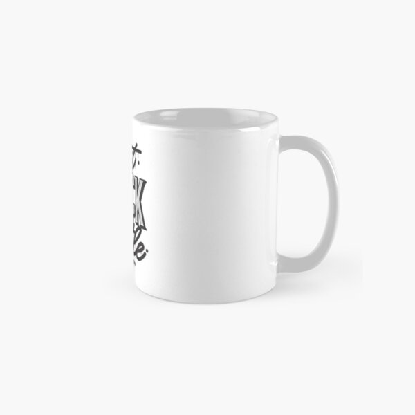 Can't Knock The Hustle - Typography Classic Mug