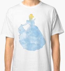 Princess blue watercolor Classic T-Shirt