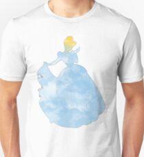 Princess blue watercolor T-Shirt