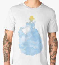 Princess blue watercolor Men's Premium T-Shirt