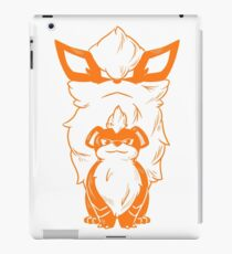 From Growlithe to Arcanine iPad Case/Skin