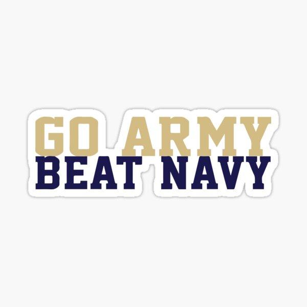 Go Army Beat Navy Sticker