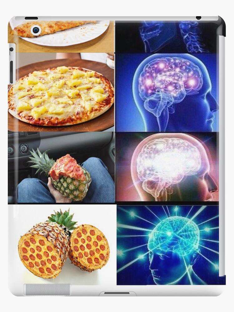 Funda y vinilo para iPad «Expansión de Brain Meme - Pizza ...