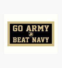 Go Army Beat Navy  Art Print