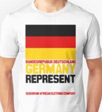 Germany represent Unisex T-Shirt
