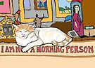 Charlie is Not a Morning Person by melasdesign