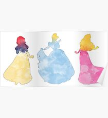 Three princesses Poster