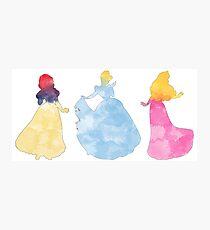 Three princesses Photographic Print