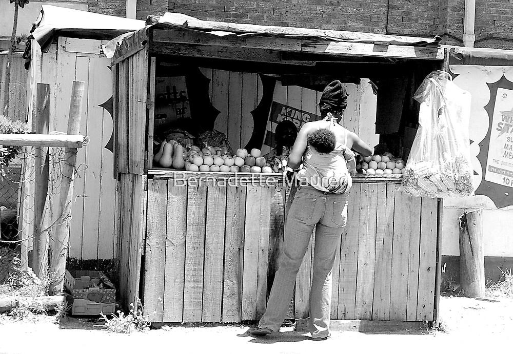 Fruit stall by Bernadette Maurer