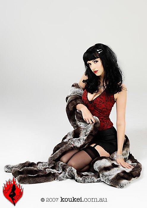 Samantha Faux Fur Doll by Samantha Doll