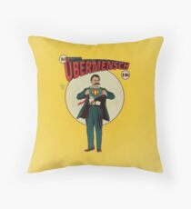 Friedrich Nietzsche - Ubermensch Throw Pillow