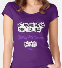 If Anyone Needs Me - Tali Women's Fitted Scoop T-Shirt