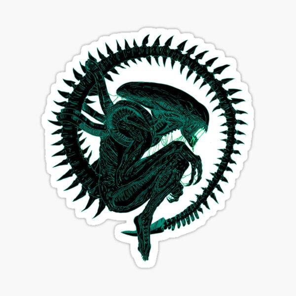 Alien. Sticker