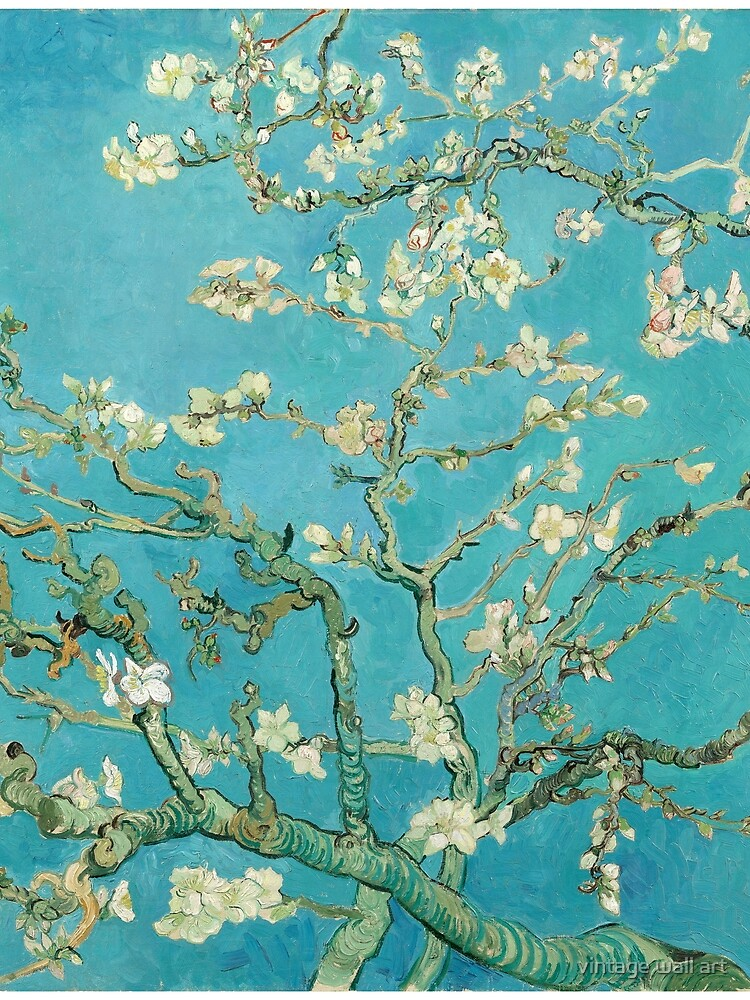 Almond Blossoms by Vincent Van Gogh  by fineearth