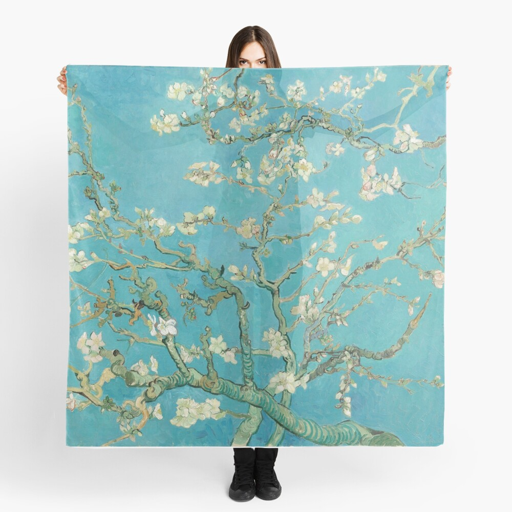 Almond Blossoms by Vincent Van Gogh  Scarf