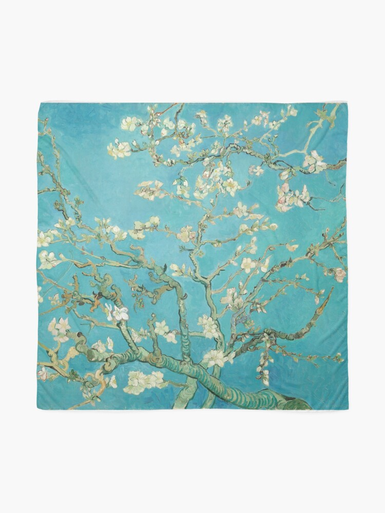 Alternate view of Almond Blossoms by Vincent Van Gogh  Scarf