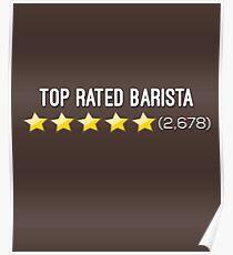 Top Rated Barista: 5 Star Reviews Poster