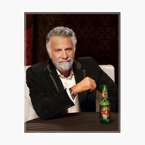 The Most Interesting Man in the World Photographic Print