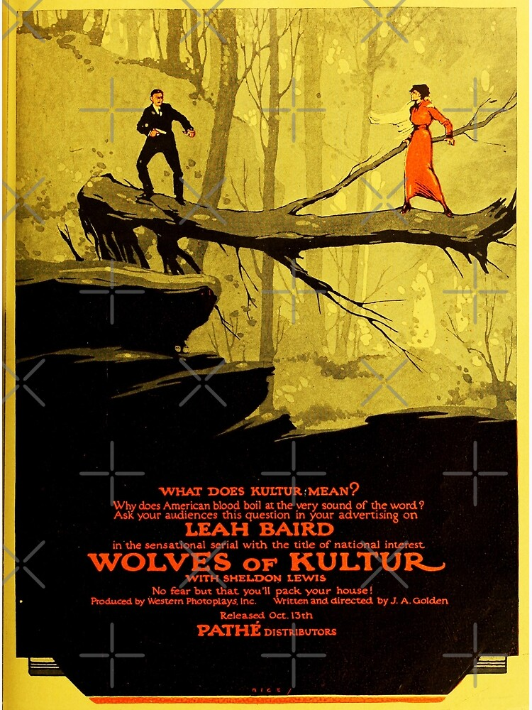 Wolves of Kultur (1918) Silent movie by mindthecherry
