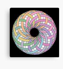 I love donut Canvas Print