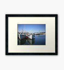 Caribou, Nova Scotia, Canada Framed Print
