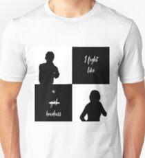 """""""I Fight Like A Badass"""" Sanvers T-Shirt"""