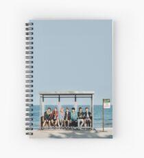 BTS Birthday Card Spiral Notebook