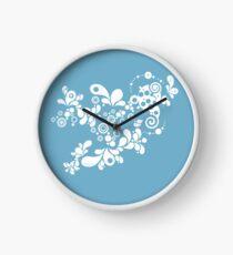 Enchanting Summer - Retro Abstract Clock