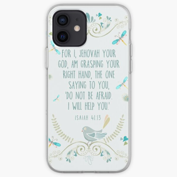 Isaiah 41:13 iPhone Soft Case